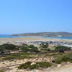 Prasonissi il paradiso del kite e del surf, isola di Rodi