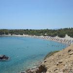 Spiaggia di Kiotari isola di Rodi