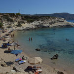 Spiaggia di Amoopi, isola di Karpathos