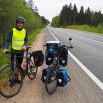 80 km vor Moskau Vladimir getroffen