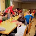 Die Feier der Juniorenabteilung fand bereits am Nachmittag statt