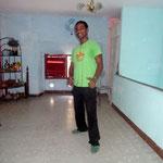 Profesor Yoel de Salsabor a Cuba