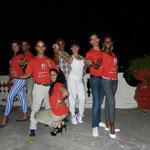 Profesores - Detrás: Daimé, Ñico, Juan Carlos y Yumirsi; Delante: Curi, Mileydis, Chino y Daimara