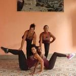 Profesoras de 'Salsabor a Cuba' - Yaliuska, Dayme, Daymara y Dayme 2