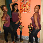 Lady teachers of 'Salsabor a Cuba'- Daymara, Dayme and Dayme 2