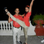 Tanzlehrer der Tanzschule Salsabor a Cuba: Curi und Mileydis