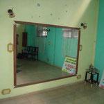 Unterrichtsraum der Tanzschule 'Salsabor a Cuba'