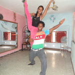 Profesores Abelardo y Yoena de Salsabor a Cuba