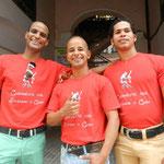 Profesore de escuela de bailes 'Salsabor a Cuba' - Ñico, Curi y Chino