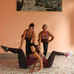 Lehrerinnen von 'Salsabor a Cuba' - Yaliuska, Dayme, Daymara and Dayme 2