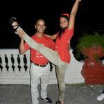 Profesores de Salsabor a Cuba: Curi y Mileydis