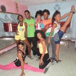 Grupo de profesores de Salsabor a Cuba