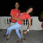 Tanzlehrer der Tanzschule Salsabor a Cuba: Ñico und Daimé