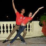 Tanzlehrer der Tanzschule Salsabor a Cuba: Chino und Yaneyvis