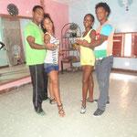 Profesores de Salsabor a Cuba (Yoel & Lisandra y Daymara & Abelardo)