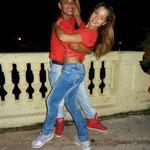 Profesores de Salsabor a Cuba: Curi y Yenny