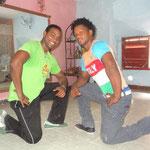 Profesores Jekson y Abelardo de Salsabor a Cuba