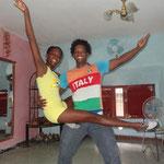 Profesores Daymara y Abelardo de Salsabor a Cuba