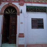 Entrance of dance school 'Salsabor a Cuba'