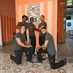 Lehrer von 'Salsabor a Cuba'