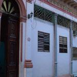Eingang der Tanzschule 'Salsabor a Cuba'