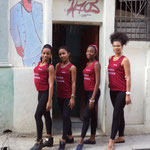 Teachers Yoena, Lisandra, Daymara and Dayme