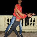 Tanzlehrer der Tanzschule Salsabor a Cuba: Ñico und Mileydis