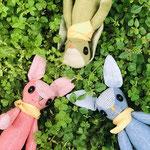 農家ウサギ3人衆