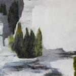 Landschaft, Öl auf Leinwand, 60 x 80 cm, 2016