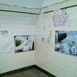 Ausstellungsansicht: Beyond one's own territory, Raumschiff, Linz, 2017