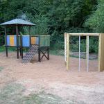 Altes Holz Spielhaus