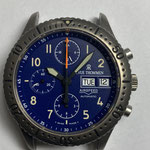 Revue Thommen Airspeed 9516002 Blue Dial Lemania 5100