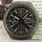 Sinn Vintage Chronograph Ref.157 Tachymeter Lemania 5100