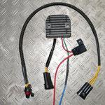 Fertig konfektionierter Kabelsatz mit Wasserfesten Steckerverbindern