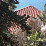 Am Südausgang, der Malteserbresche,etwas tiefer gelegen die Eleístria-Kirche