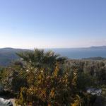 Die Aussicht von unserem Haus
