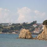 Blick nach Finikounta von der nächsten Bucht