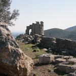 Von den ursprünglich 30 Festungstürmen kann man noch 7 erkennen