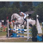 Letzter gemeinsamer Concours und nochmals gesiegt. Kandersteg 2008