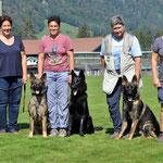 Kyano, Kiro, Kansas, Jackie und Mutter Gringa