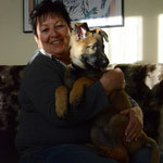 10 Wochen im neuen Zuhause mit ihrer neuen Besitzerin