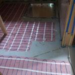 Neuer Boden im Welpenzimmer 2012