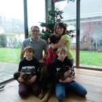 Weihnachten mit den H's, 5 Wochen alt
