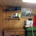 Isolieren Sattelkammer