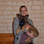 Daika und ihre Besitzerin