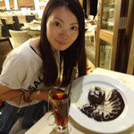 このチョコケーキが最高でした♪