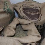 Impressionen aus dem Kaffeelager