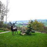 Kanton Aargau,  Schweiz: Bronzehirsch ORSON