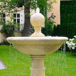Potsdam: Überlaufbecken vom Brunnen PADUA, Kalkstein aus Vicenza, maßgeschneiderte Steinmetzarbeit