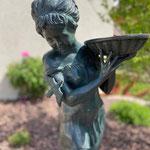 Neunkirchen/Saarland: Bronzebrunnen EPONA, 89 cm